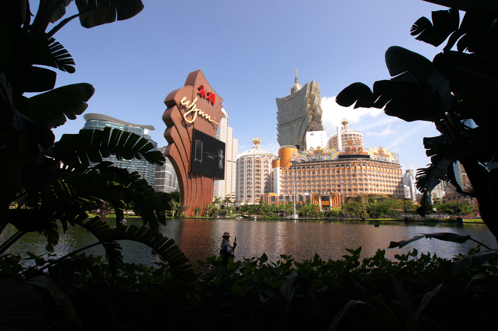 Macau gross gaming revenue surged 28 percent in April