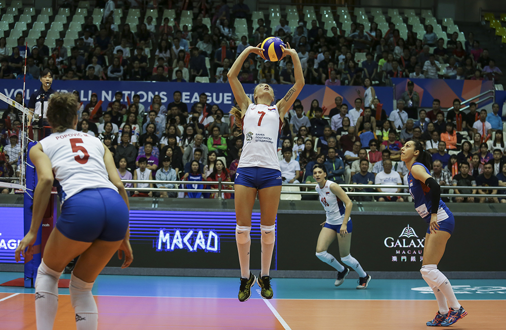 Boskovic rises as Serbs hold off spirited Thailand