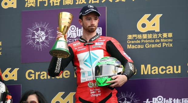 Irwin won't return to the Macau Motorcycle Grand Prix over safety concerns