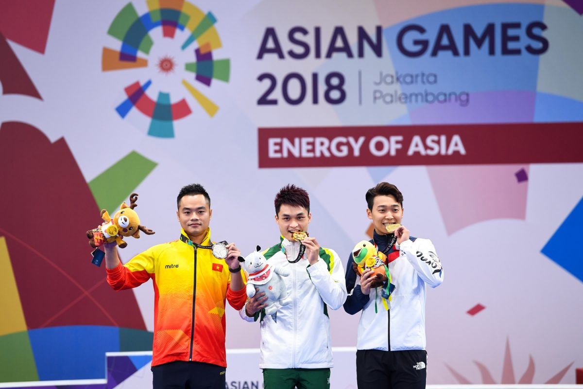 Gold medal for Macau athlete in the Asian Games in Jakarta