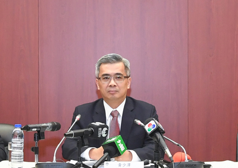 Macau Police probing state security cases: Wong