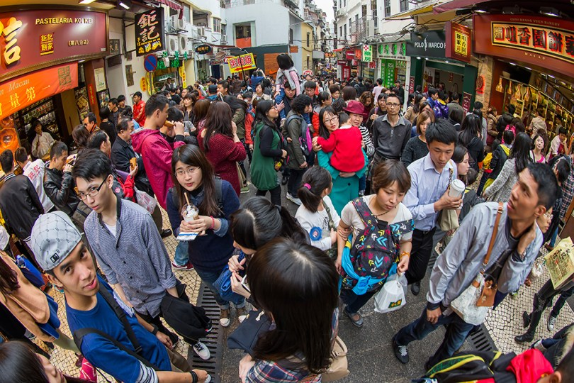 Almost 20 million visited Macau from January to July