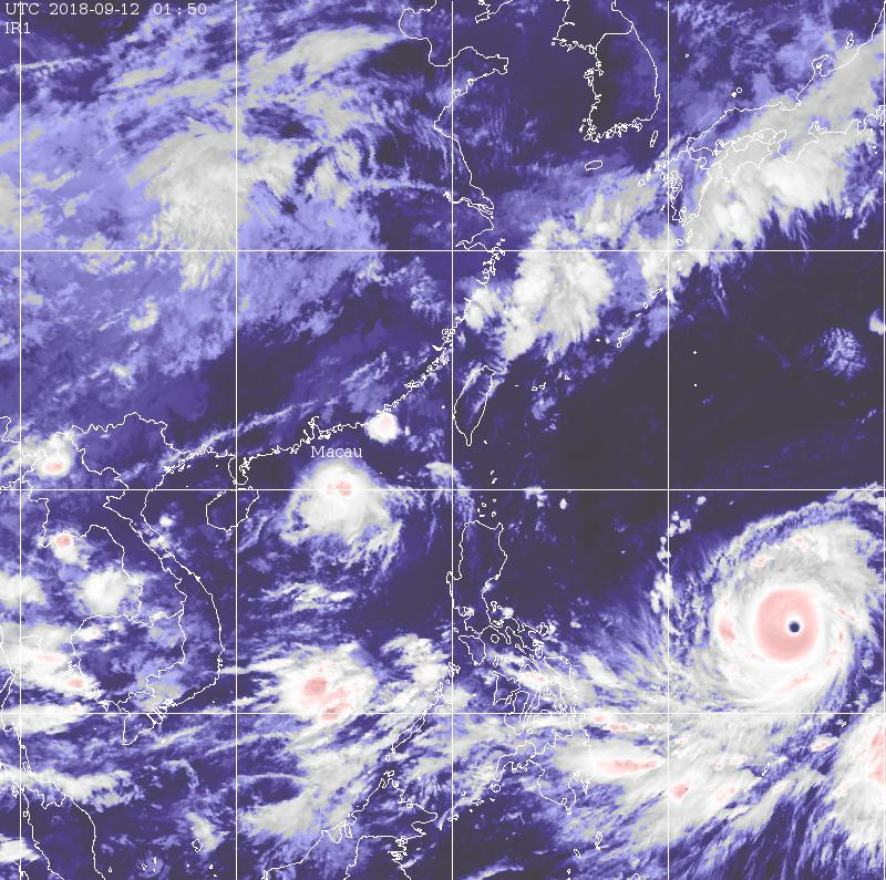 High chance for No. 3 signal as tropical storm Barijat nears