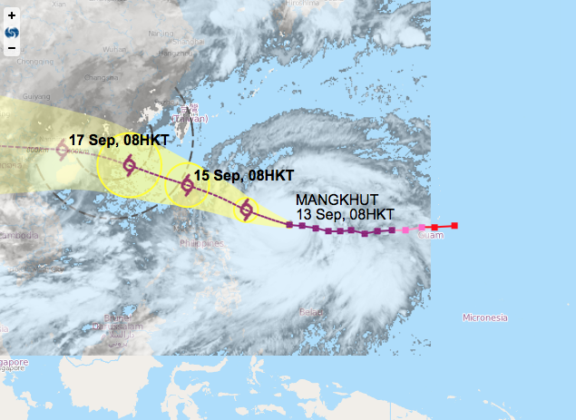Macau government warns typhoon Mangkhut as serious as Hato