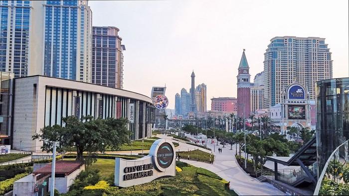 Total receipts of gaming activities in Macau increased 18.7 % in 2017, official