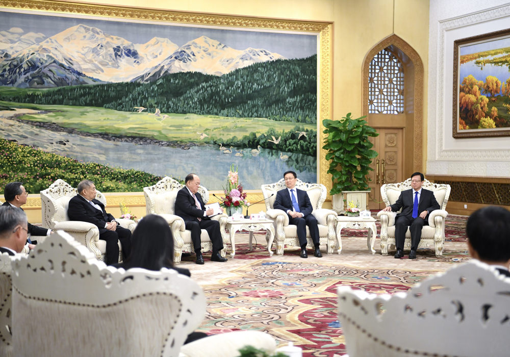 Chinese Vice-PM Han urges Macau lawmakers to respect executive-led system and safeguard national security