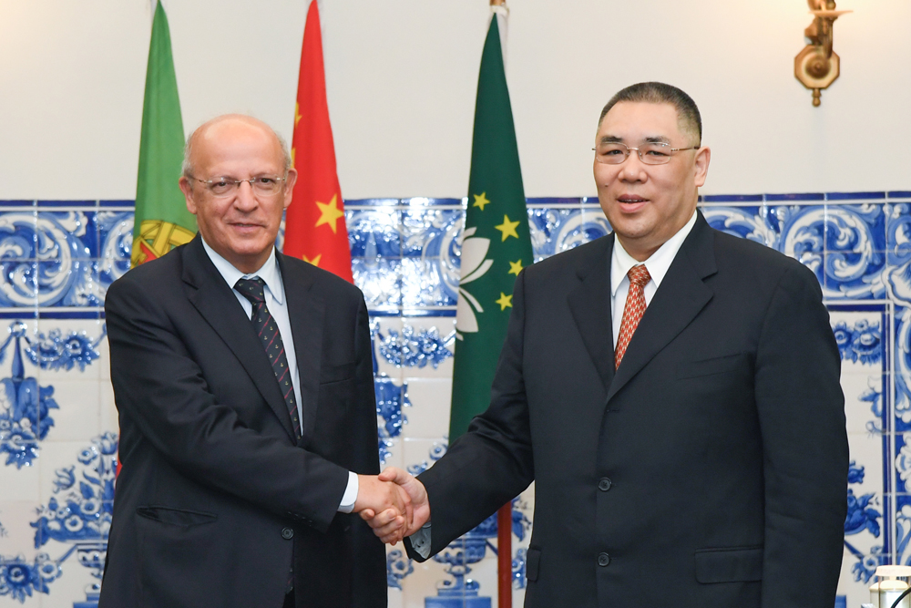Macau and Portugal delegation meet to discuss bilateral cooperation