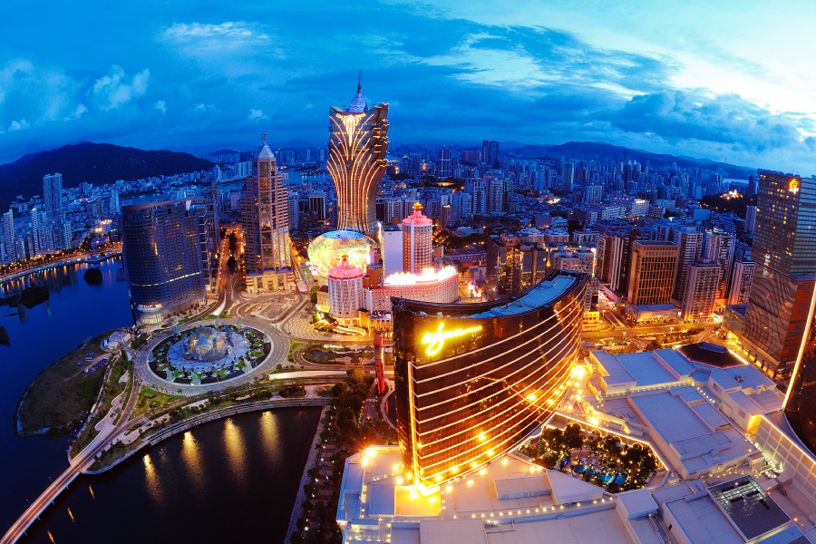 Macau casinos revenue up 2.8% in September