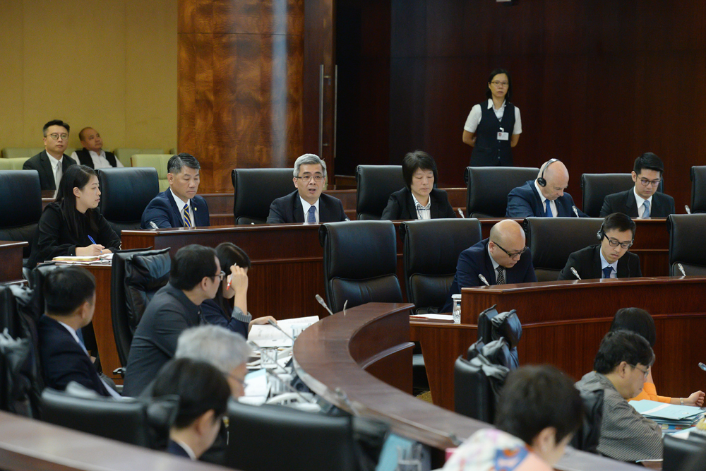 Macau lawmakers pass bill aiming to make police work more efficient