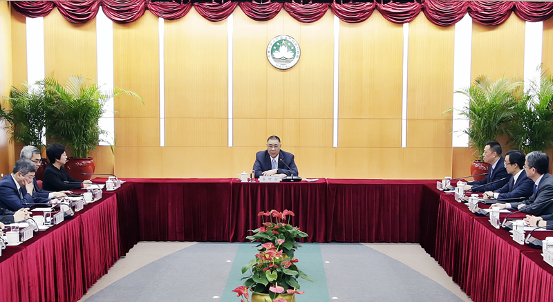 Chui briefs top officials on Xi speech