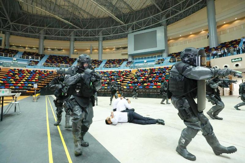 Macau security forces, PLA garrison hold their 1st joint drill