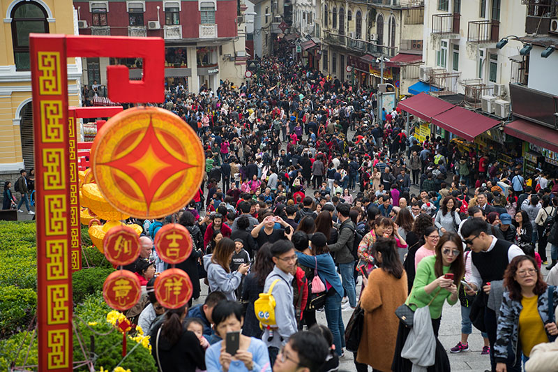 Macau receives 28.9 million visitors from January to October