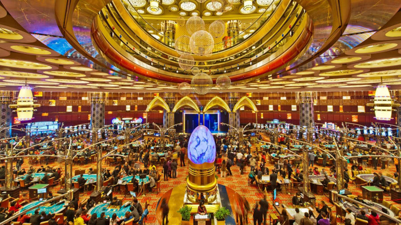 Macau gaming receipts rise to US$ 3.1 billion in November