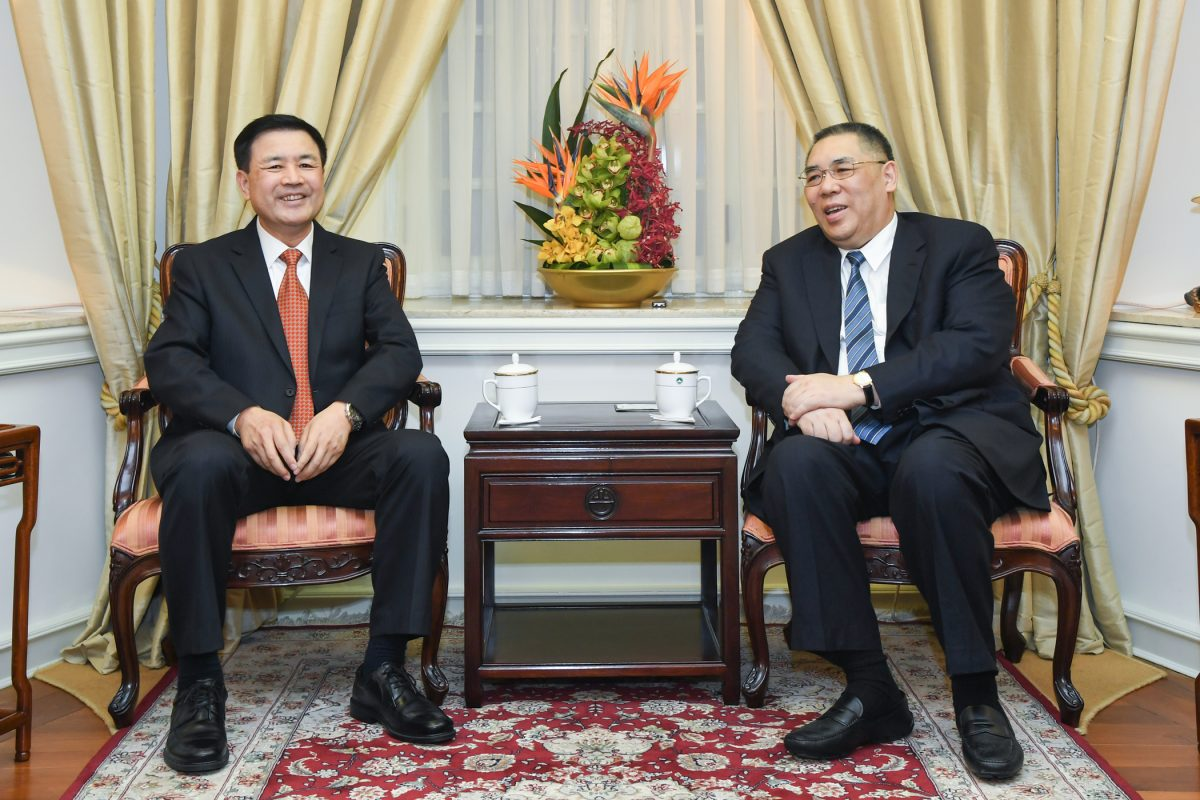 Chui, Public Security Vice Minister Wang vow to strengthen 'indispensable' cooperation