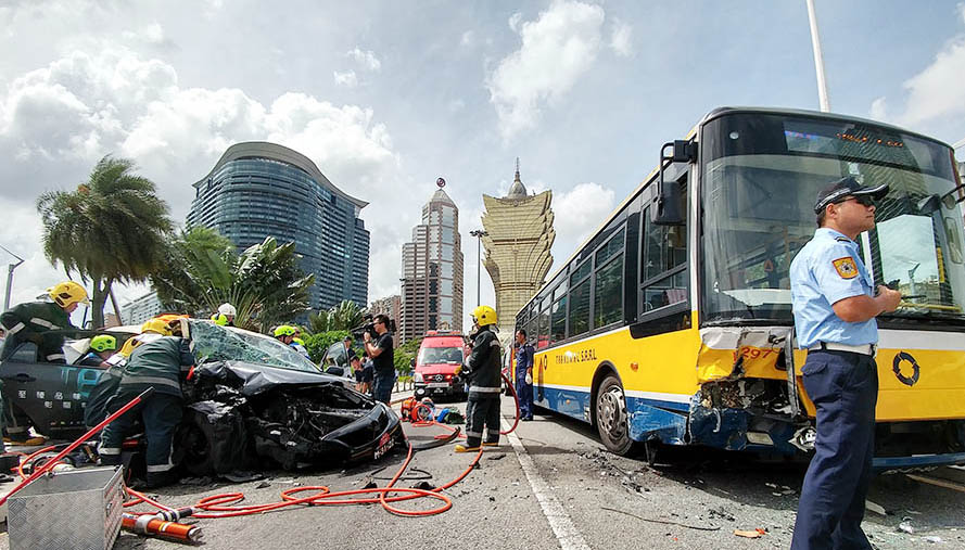 Traffic accidents drop 6.5 pct to 13,764 in 2018