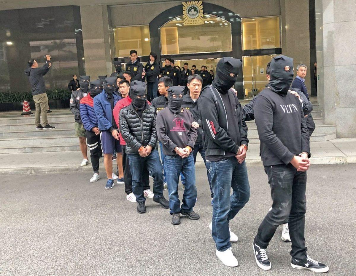 Police bust loan-sharking gang, nab 71 suspects