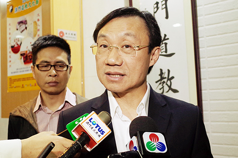 Tam asked about CE bid says his focus is on current duties