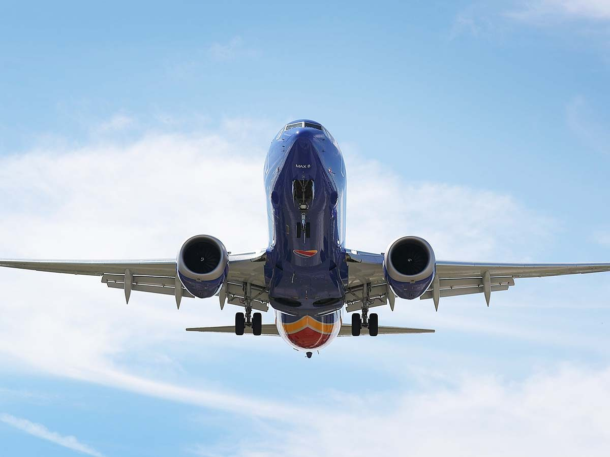 Macau bans Boeing 733 MAX flights