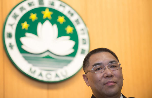 Chui vows to promote Macau's platform role during Portugal trip