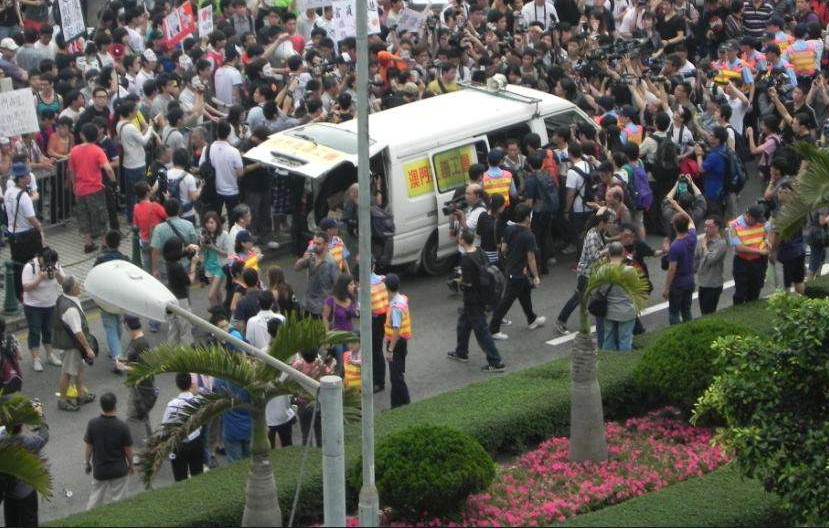 2 individuals to protest on May Day: police