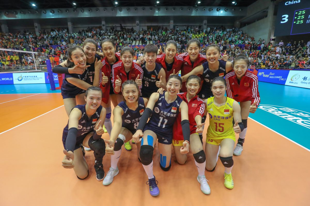 China wins Pool of FIVB VNL Macao 2019