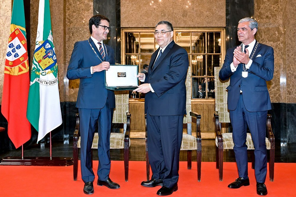 Macau and city of Porto sign document to deepen cooperation