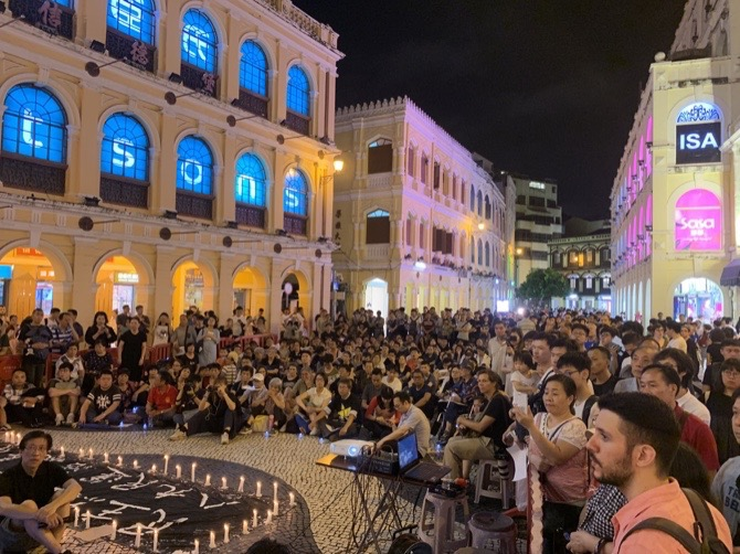 Vigil in Macau marks 30th anniversary of June 4 incident