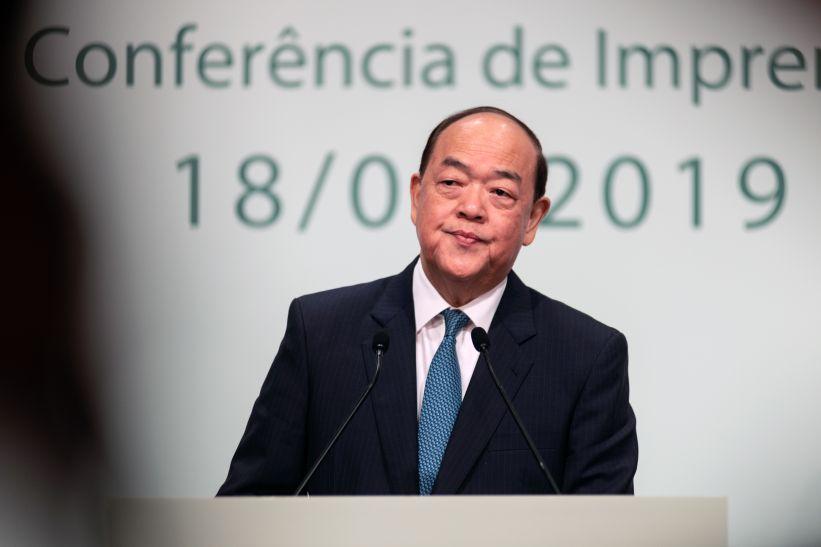 Ho Iat Seng  leaves legislature, urging it to meet residents' expectations