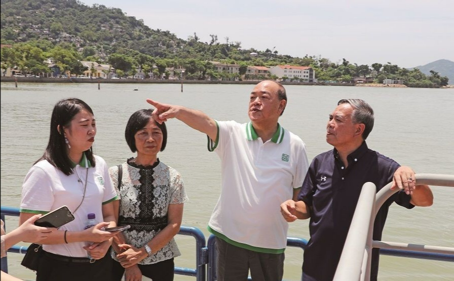 Ho wants Coloane to become tourism business district