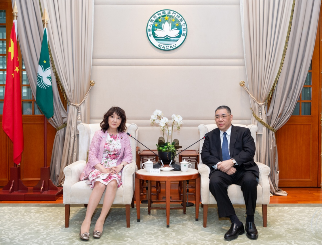 Chui keen to strengthen ties with Japan