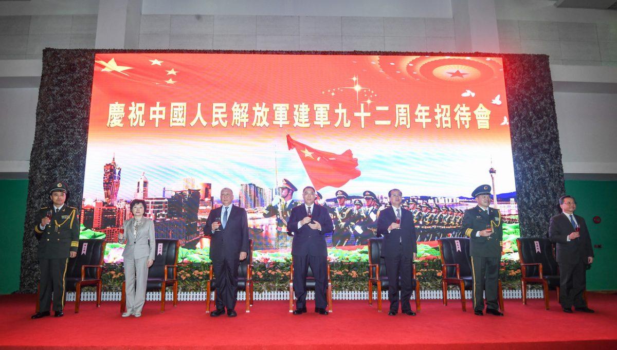 PLA garrison vows to 'unswervingly' protect Macau