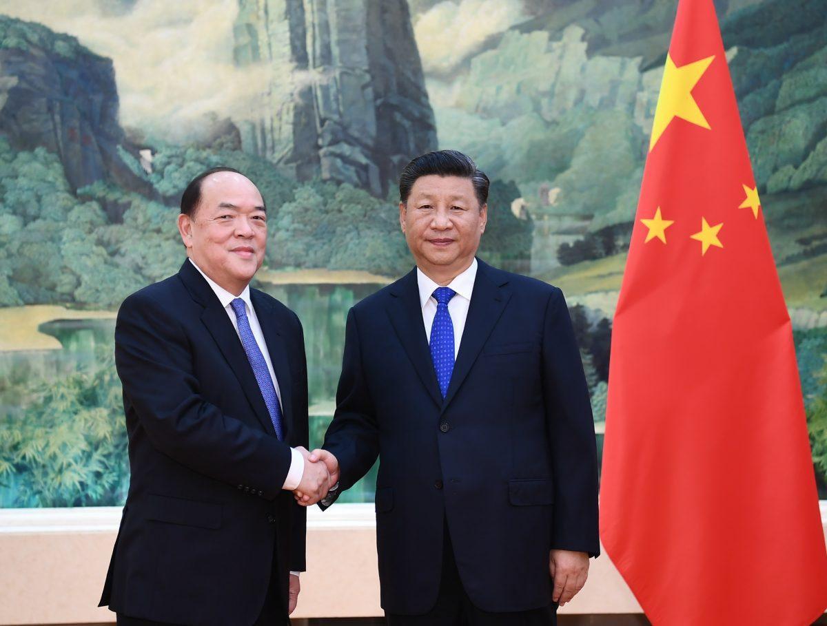 President Xi Jinping receives Ho Iat Seng in Beijing