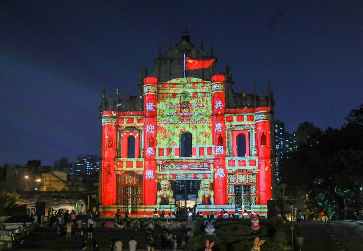 Many liked St. Paul's Ruins mapping show: Tam