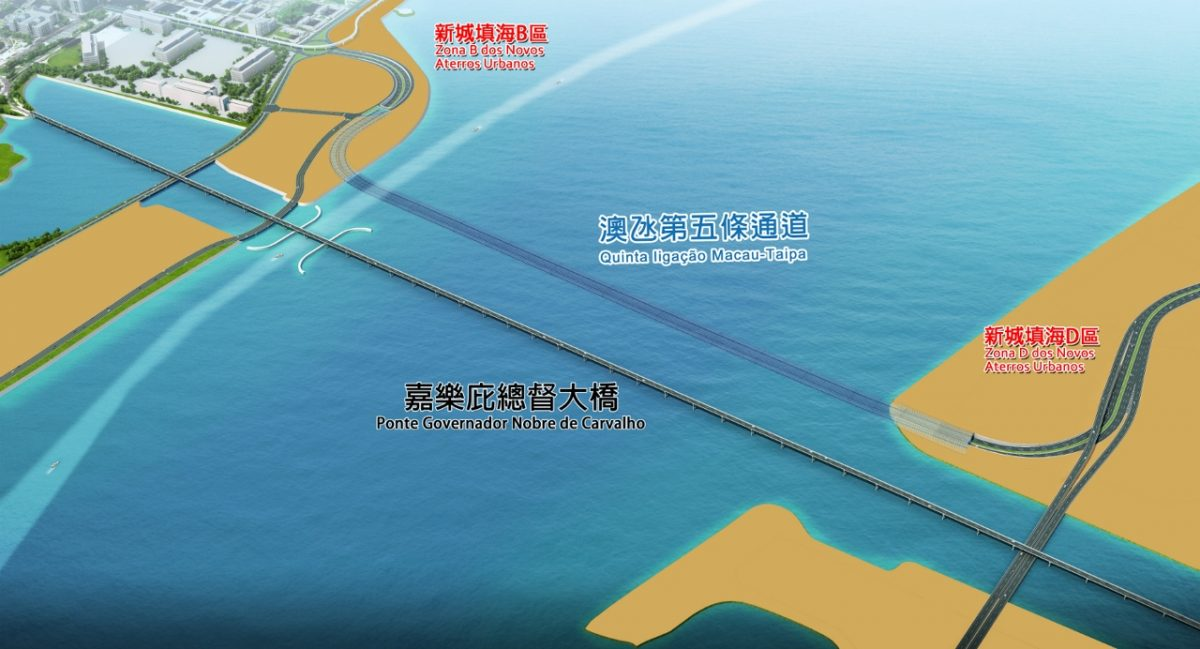 Government collects views on eco-assessment of Macau-Taipa tunnel