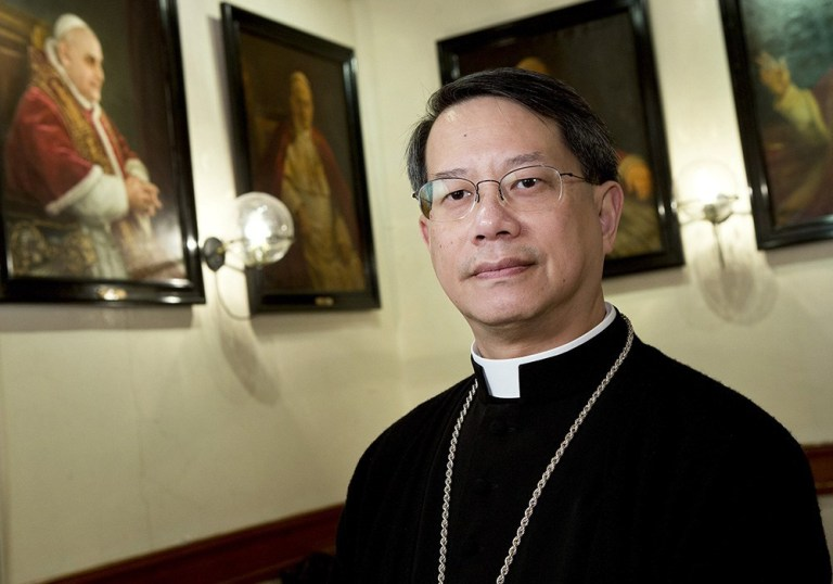 Macau bishop retreats after Secretary Tam's response