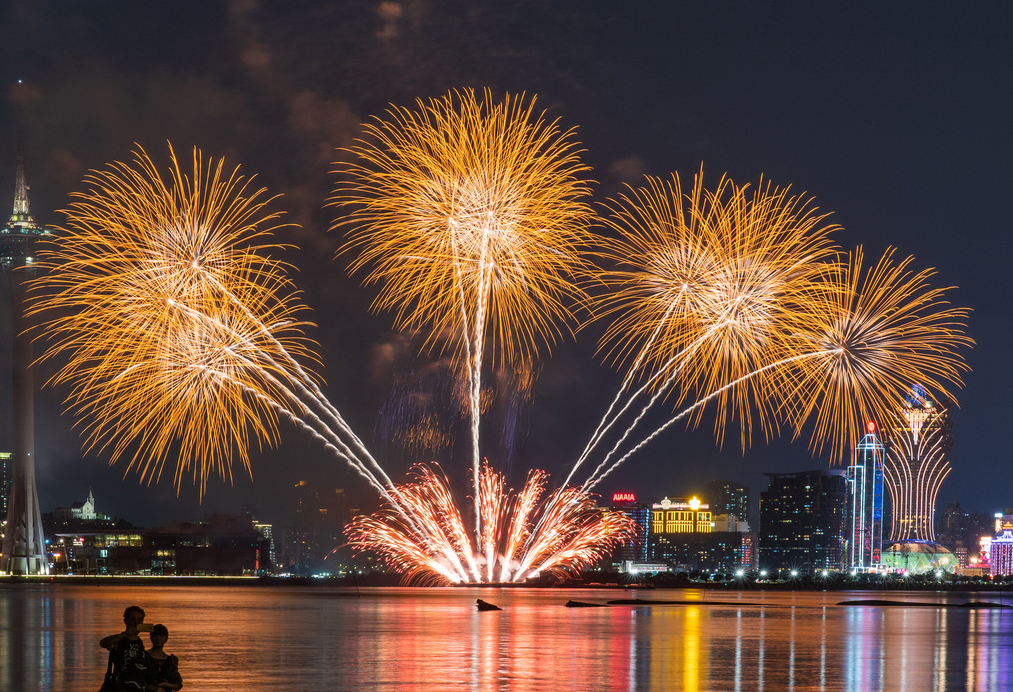 Japan won the 2019 Macao International Fireworks Contest
