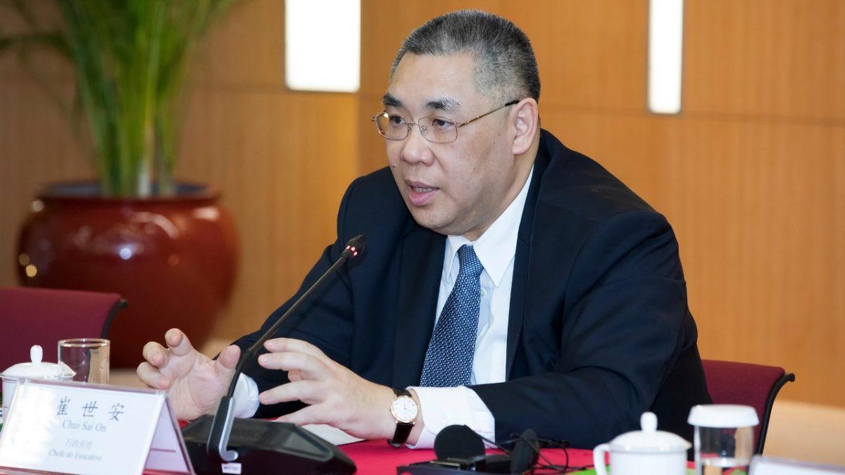 Chui stresses socio-economic progress in his 10-year term