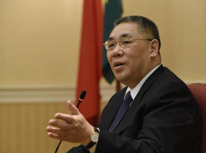 Macao chief: Patriotism SAR's core value