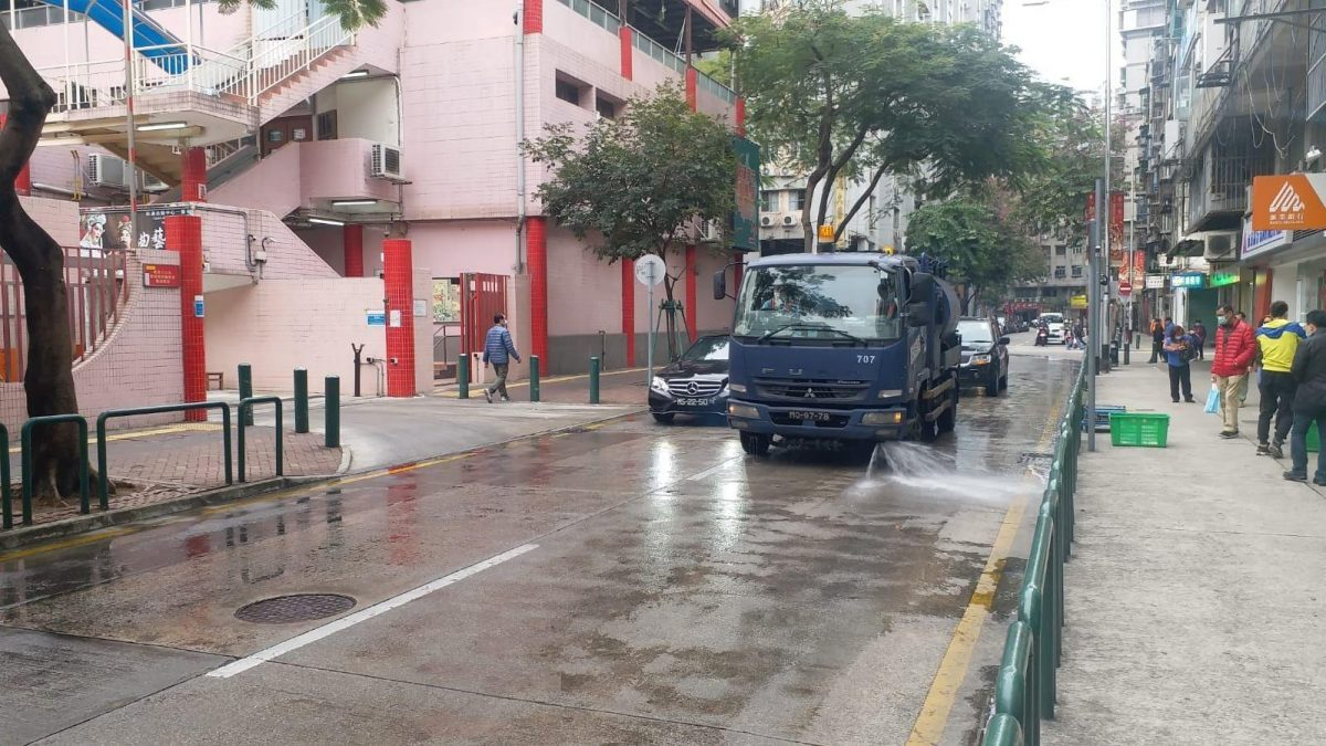 Government bolsters street cleaning to help fight coronavirus