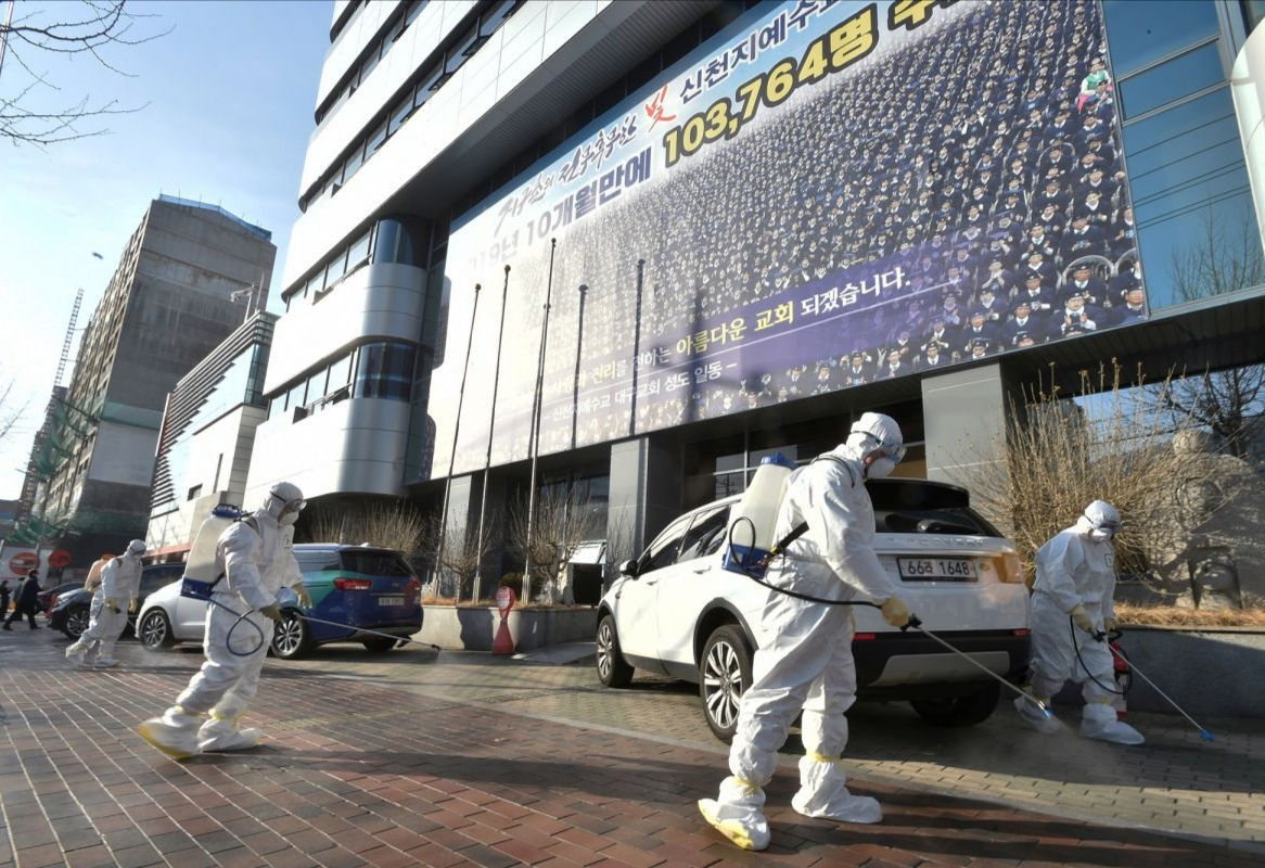 Anyone arriving from South Korea must go into quarantine from Wednesday