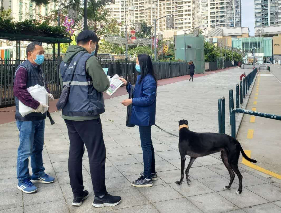 Govt reminds owners to properly handle dog poo during coronavirus threat