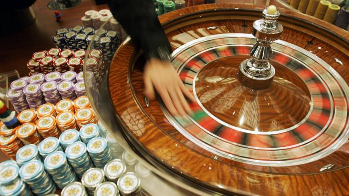 Casino receipts drop 11.3% in January