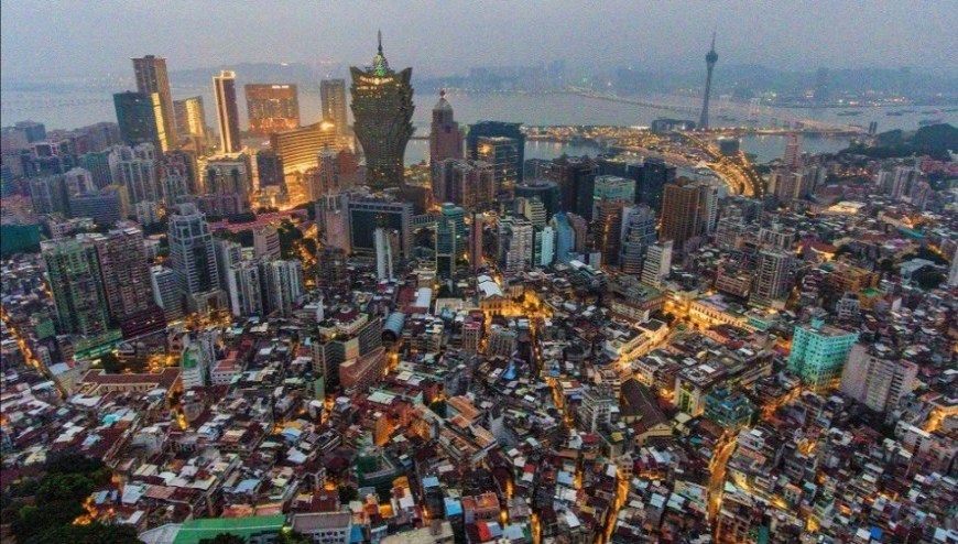 Macau's population rises to 696,100 at end of March