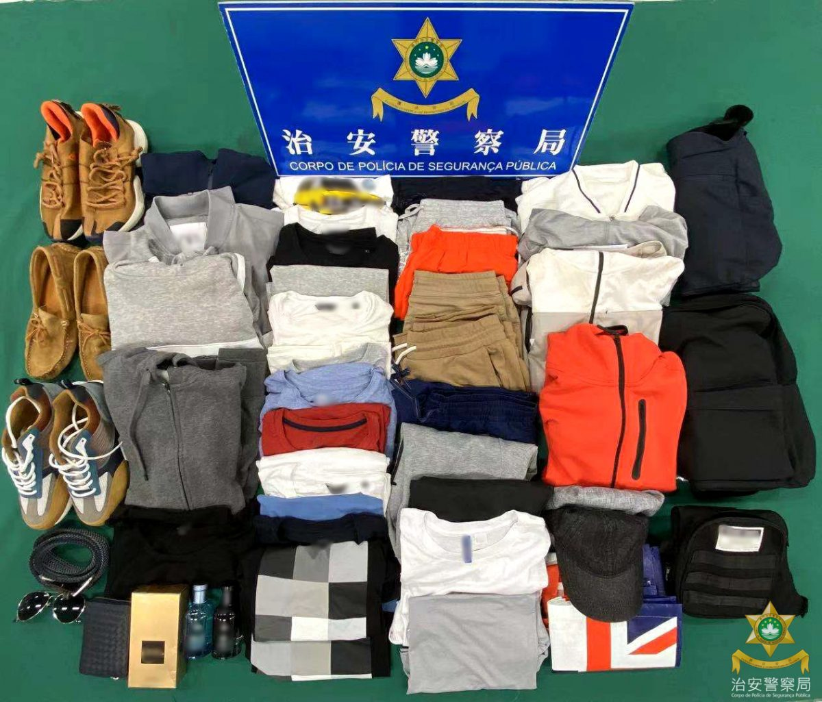 Mongolian caught for month-long shoplifting spree