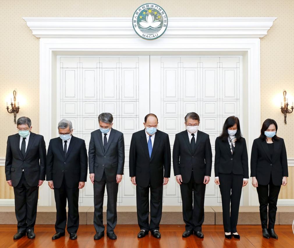 Macau observes 3-minute silence for COVID-19 victims