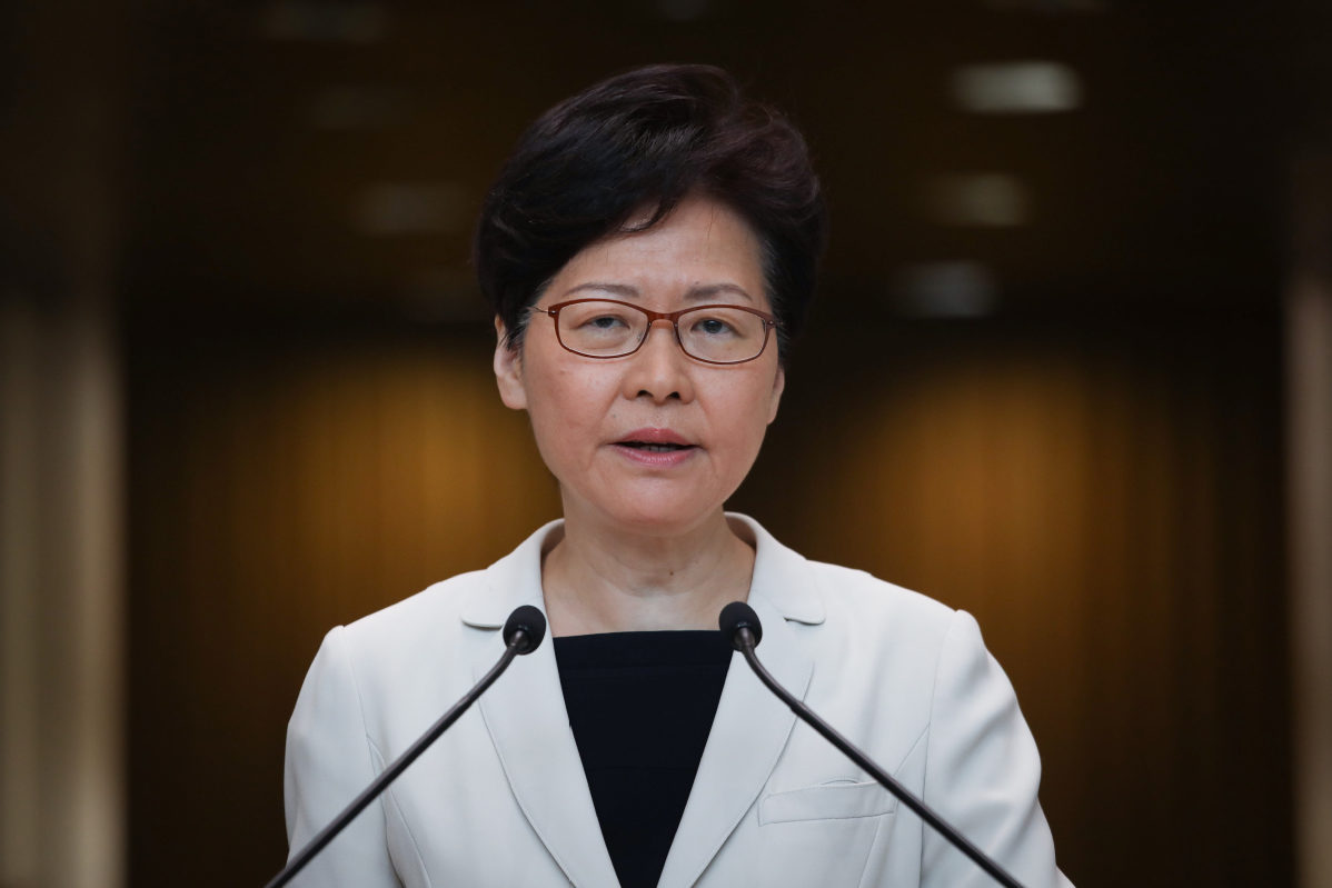 Hong Kong Chief Executive says government in discussions to lift restrictions on travel to Guangdong and Macau