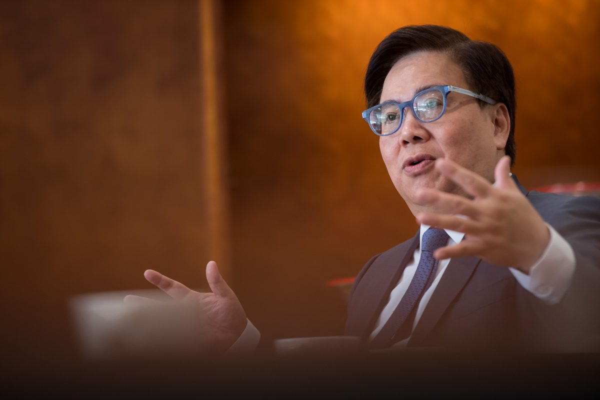 Wilfred Wong to lead Sands China until 2024