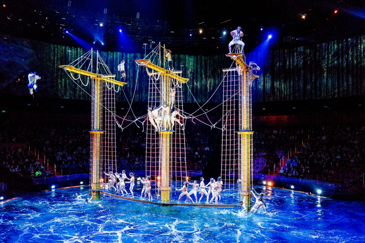 The House of Dancing Water suspended until January 2021