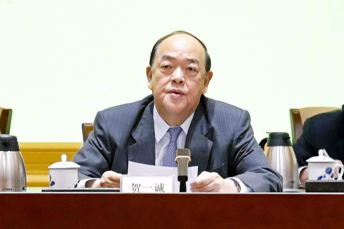 Ho Iat Seng underlines GBA development drive in meeting about 'Two Sessions'