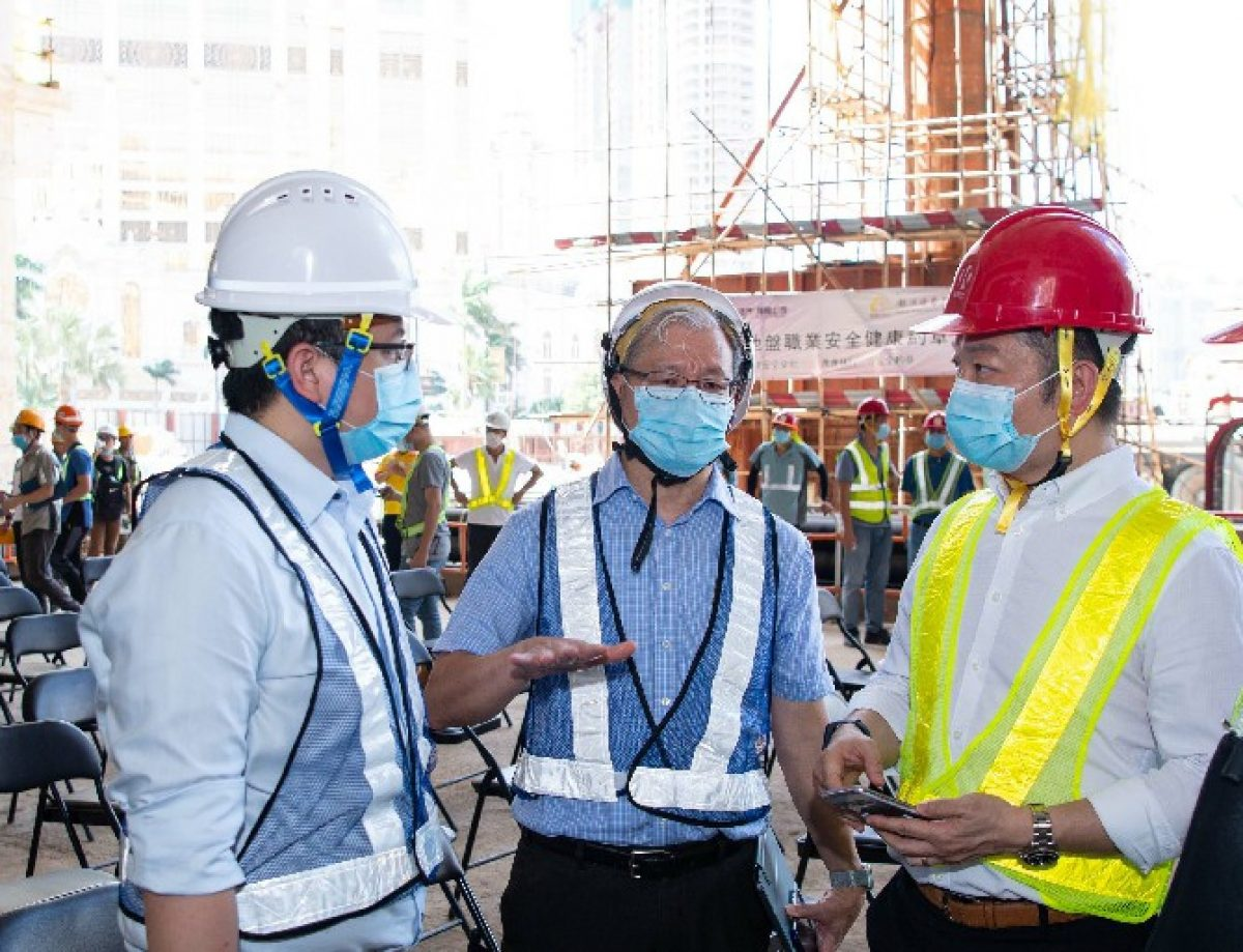 GEG signs safety charter with contractor for new Cotai project